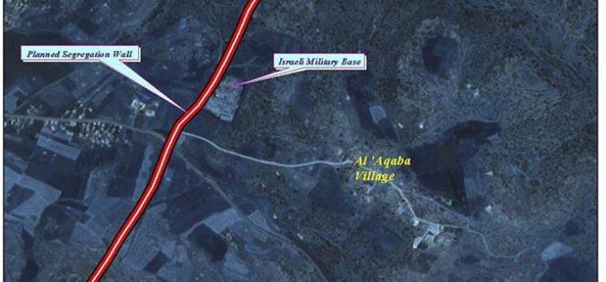 The forgotten Al 'Aqba village