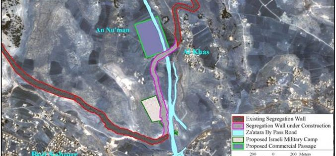 A New EREZ at the segregated Mazmuria -Bethlehem governorate –