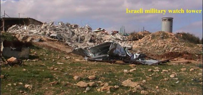 Wipeout of Palestinian Houses in Al-Khader Village