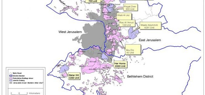 Expenditure of Israel settlement Activities for the First Quarter of 2004