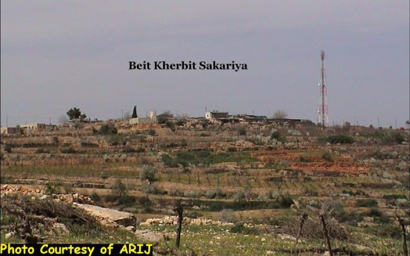 Land Grab continues in Bethlehem District