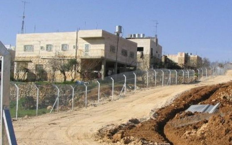 The Segregation Wall Plan in Hebron Governorate <br>
