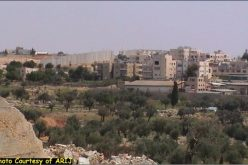The Segregation Wall: A skyline in Beit Jala