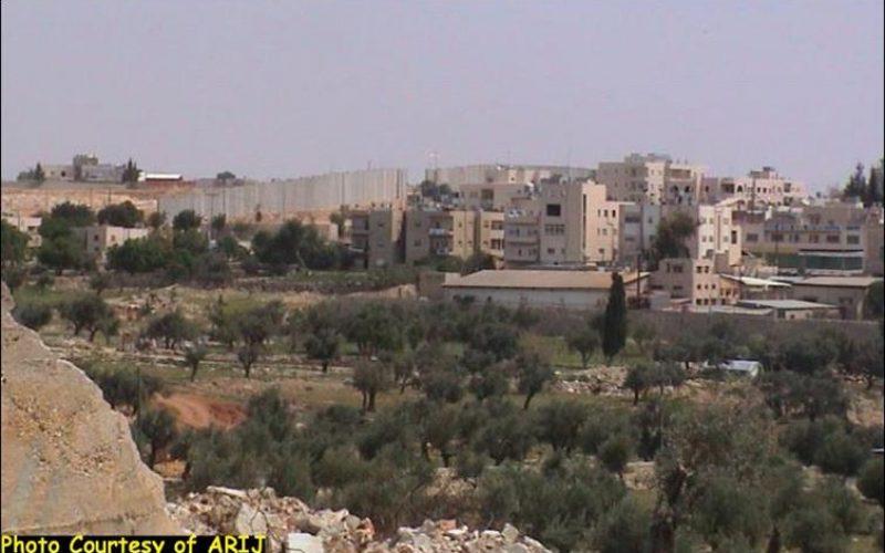 The Segregation Wall: A skyline in Beit Jala