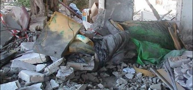 Israel Blow-Up Two Palestinian Houses in Bethlehem District