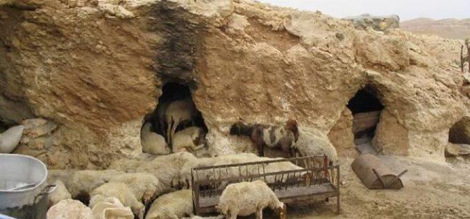 People of the caves targeted by the Israeli occupation forces