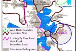 Israel commences wall constructions on 'Anata village lands
