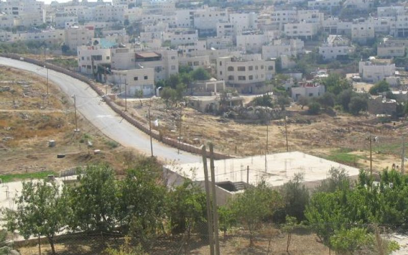 """Israeli """" Prayers"""" Road"""" built on ruins of ancient Palestinian houses in the old city of Hebron"""