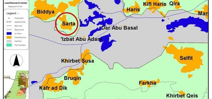 Land Confiscation, Tree Burning and Uprooting Campaigns against the Village of Sarta !!!