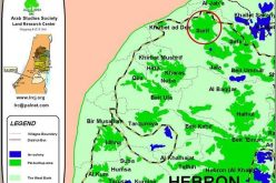 The Segregation Separation Wall hits the lands of Surif and Khibet Ad Deir- Hebron district