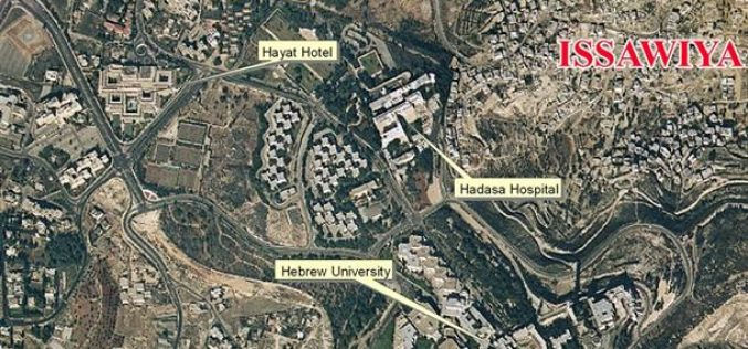 Hebrew University expansionist plans
