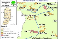 The impacts of the Segregation Wall on Khirbet Jubara, Tulkarem