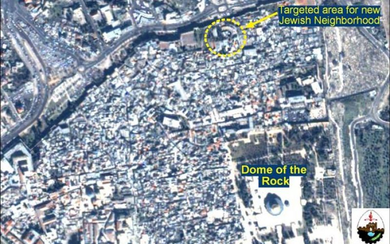 Toward Israelization of the Old City of Jerusalem  Plan for New Jewish Neighborhood Horns Bedlam over Old City's Fate