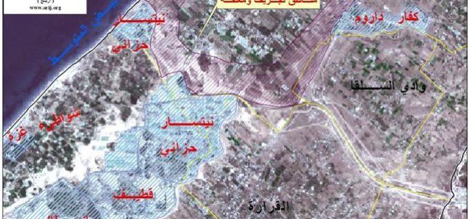 دير البلح عزل وتدمير وتخريب للطرق والبنية التحتية وتشريد للسكان