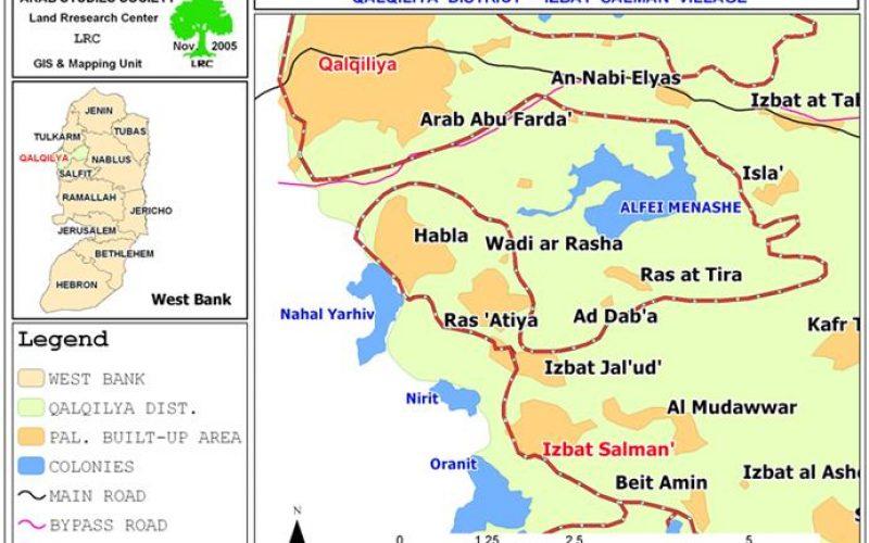 Seizure of Izabt Salam's lands is an on going process !!!