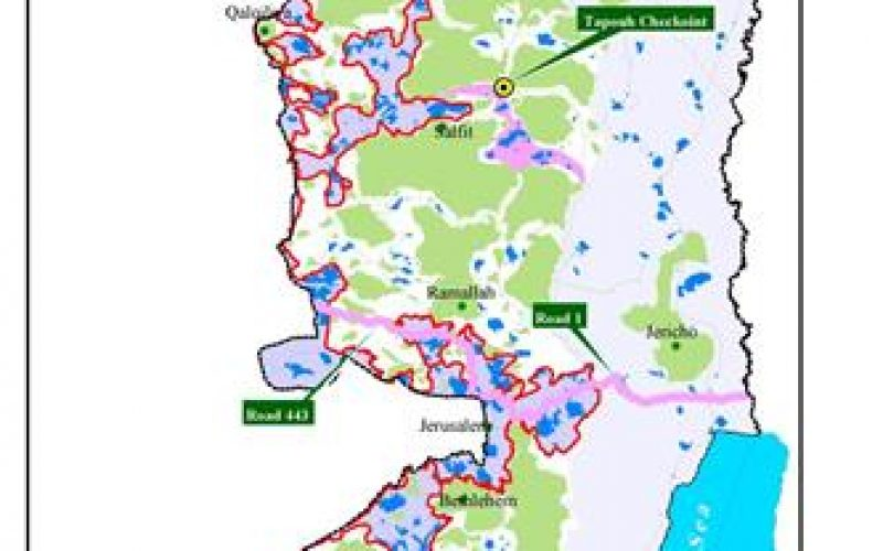 Sliced & Diced: The Israeli Corridors and the Future of a Palestinian State !!!