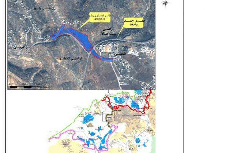 أمر عسكري جديد لبناء معبر يربط بين قرى الريف الغربي و بيت لحم