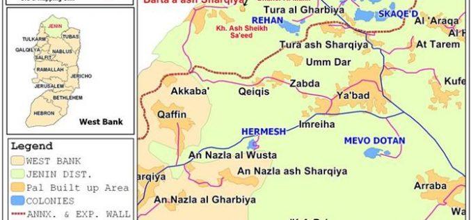 A new wave of demolitions in Barta'a Ash Sharqiyeh