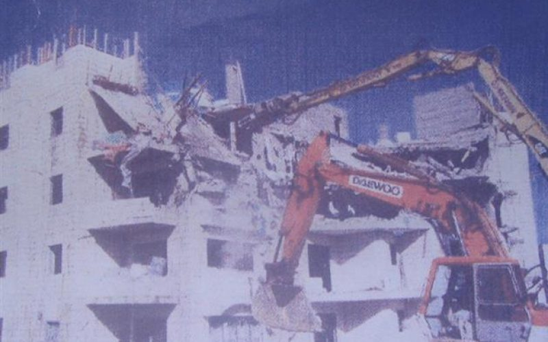 Intensive demolition campaign against Palestinian housing in Jerusalem during the first three months of 2006