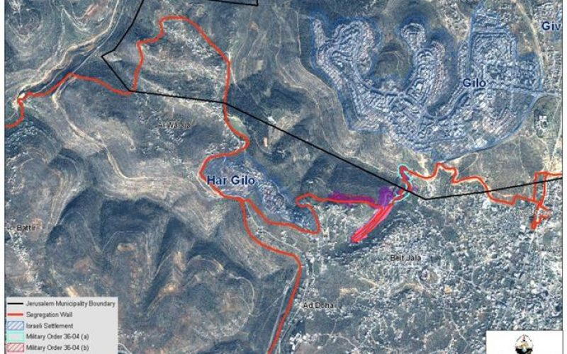 New Land Confiscation Order in Beit Jala City