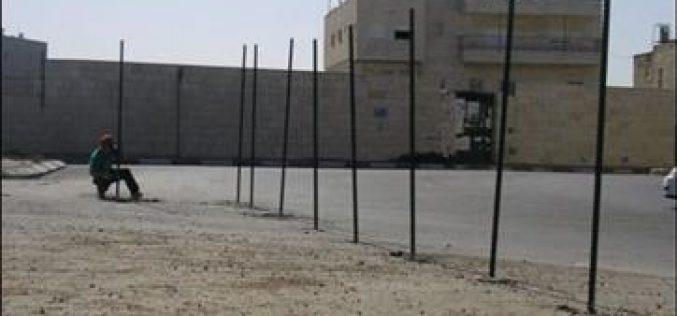 Israeli Wall activities in the vicinity of Rachel's Tomb !