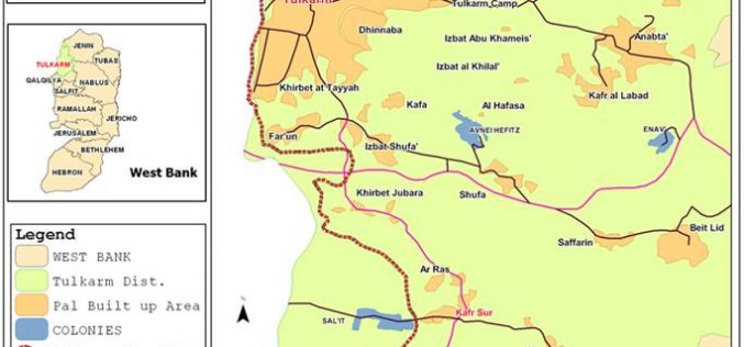 Kafr Sur's separated land has become a target of colonial expansion