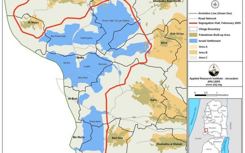 New settlement constructions at Modi'in Illit settlement Bloc.