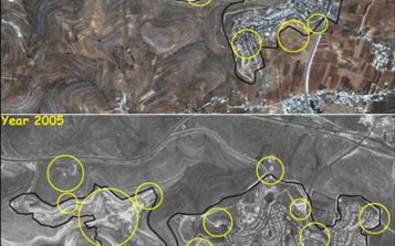 New Expansions in the Israeli West Bank Settlements
