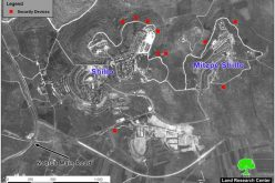 Land confiscated for settlement protection Qarut and Jalud Villages