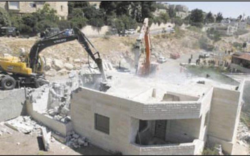 The House Demolition Campaign in Jabal Al Mukabbir – Jerusalem Governorate