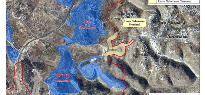 Israel declares the construction of a New Terminal in Bethlehem Governorate