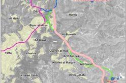 New Israeli parallel road in Yatta area