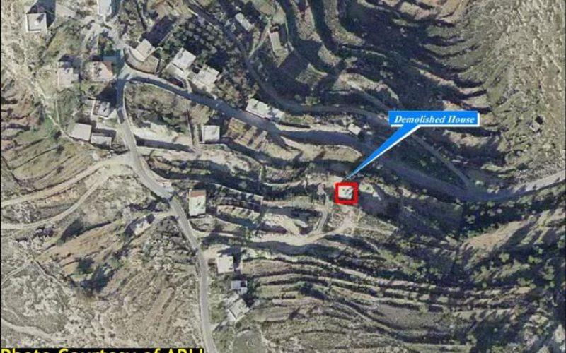 "Israel Resumes ""House Destruction"" Policy in Al Walajeh Village Northwest of Bethlehem City"