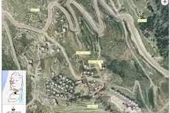 اخطارات بالهدم و وقف البناء لسكان منطقة جبل الديك و اسكان الروم في مدينة بيت ساحور