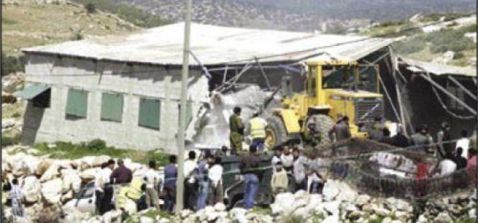 Demolitions, threats of demolitions and evictions in Idhna town – Hebron Governorate