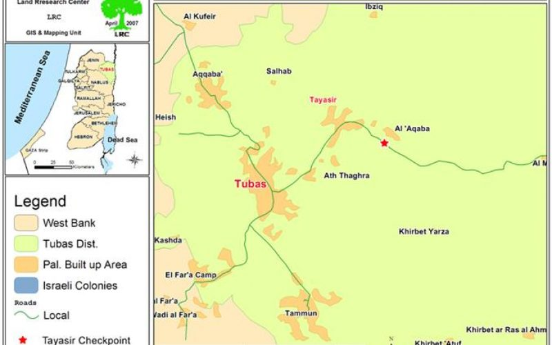 Israeli Occupation Forces Increase Inhumane Practices at Tayaseer Checkpoint