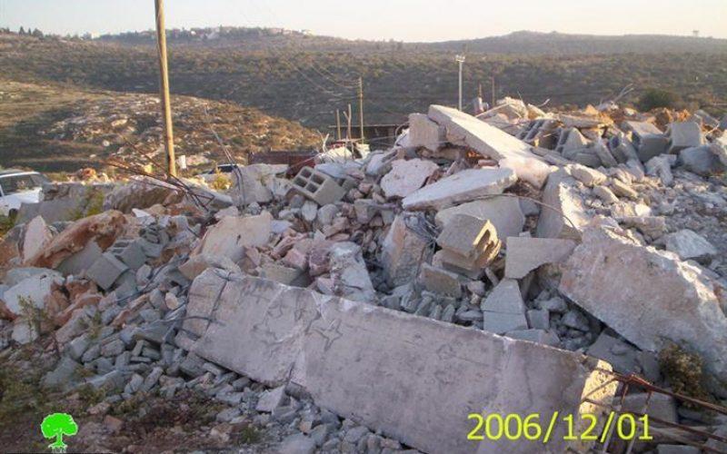 House demolition warnings in Qarawat Bani Hassan – Qalqiliya