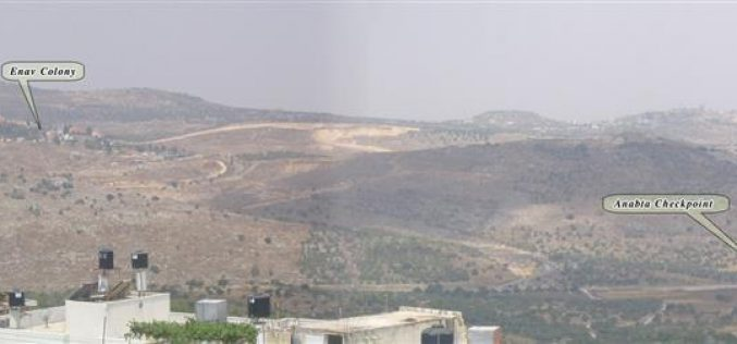 Israeli settlers set fire to agricultural lands in Ramin village