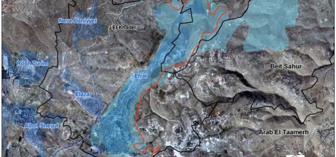 An Israeli Plan to establish a new colonial Outpost in Bethlehem Governorate