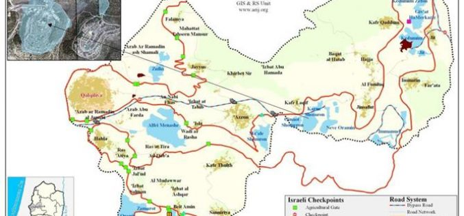 Plans for construction in Israeli Settlements in the West Bank are vigorously flourishing in 2007