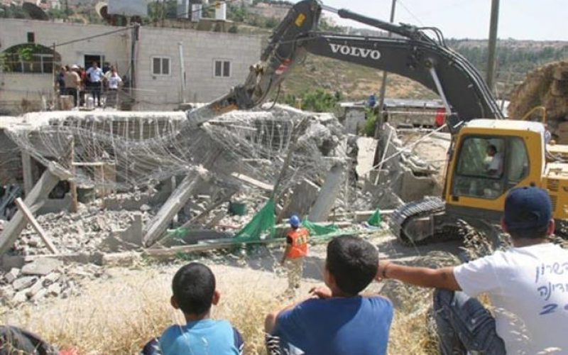 67 Palestinian houses demolished in half year in the occupied city of Jerusalem