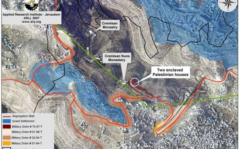 New Israeli Military Order to Confiscate More Palestinian Lands in Beit Jala