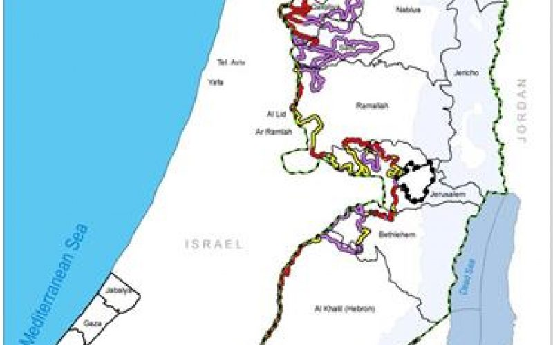 """It Will Take One More Year Because of Legal & Environmental Obstacles <br> """" The Construction of the Israeli Apartheid Segregation Wall will be completed by 2010"""