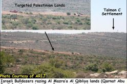 Israeli settlers prepare to establish an Outpost in Al Mazra'a Al Qibiliya village