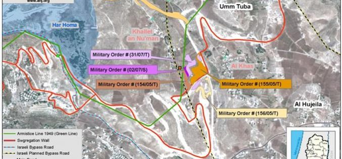 New Military Orders in the Villages of Al Khas and Al Nu'man
