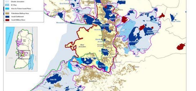 E1: a Deal Breaker to possible Palestinian – Israeli Peace