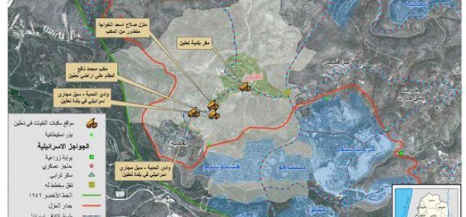 تقييم الوضع البيئي في قرية نعلين
