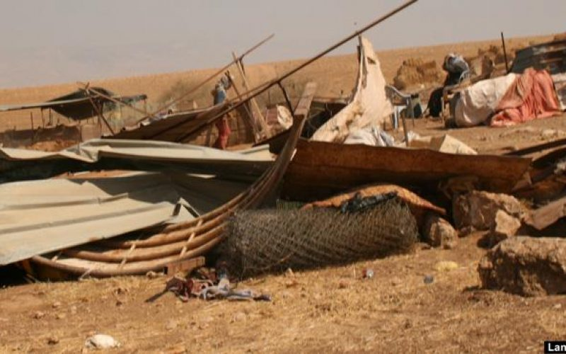 Israeli Occupation continues ethnic cleansing in the Jordan Valley