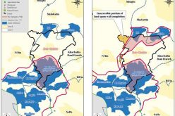 """The Segregation Wall, an unlawful measure of Land Grab !!! <br> """"The Case of Deir Qiddis village"""""""