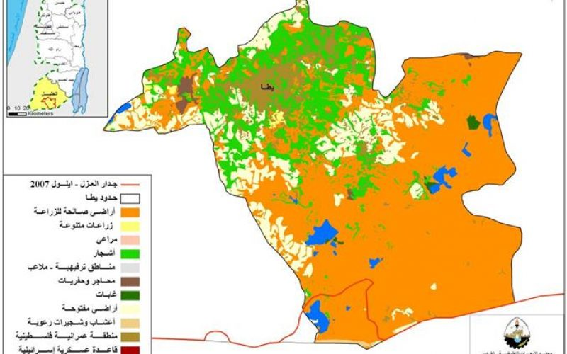 الواقع البيئي الراهن  في منطقة يطا – محافظة الخليل